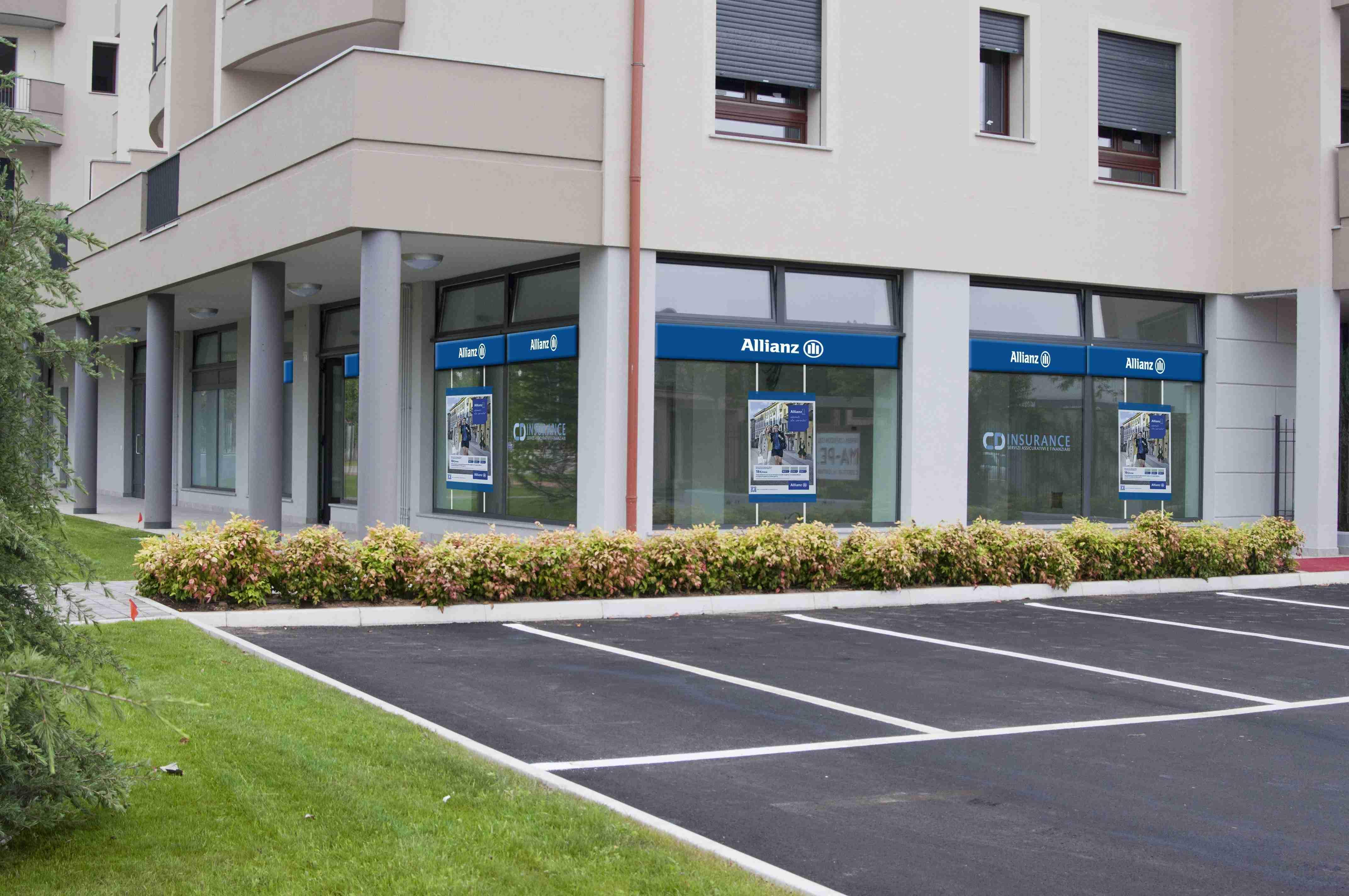 vetrina cdinsurance - assicurazione allianz magenta